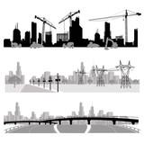 Fototapety Vector illustration.City skyline.silhouette