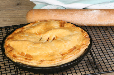 home baked pie