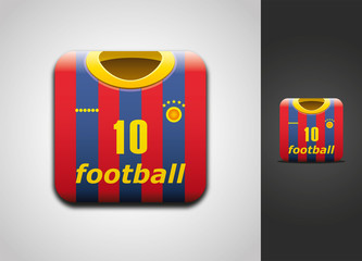Football shirt icon