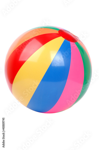 colorful plactic ball i