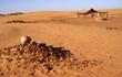 Berber tent in the Sahara