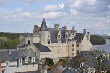 Les toitures de Montsoreau