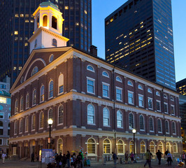 Faneuil Hall in Boston, Massachusetts