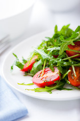 Rocket Salad with Cherry Tomatoes