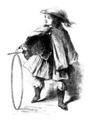 Child Playing - 17th-18th century