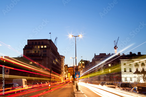 London Light trail