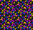 Colorful Seamless Retro Pattern