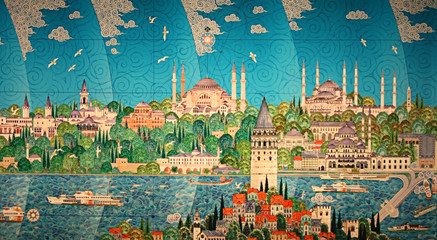 Miniature of Istanbul (Historical Peninsula)