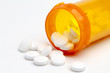 Tablets pills round out of container - 40901535