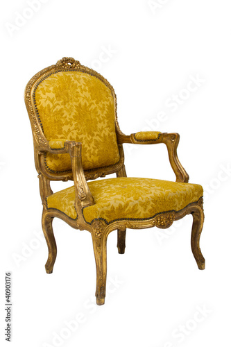 Luxury vintage armchair