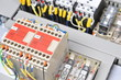 panel with  electrical equipment - 40903919