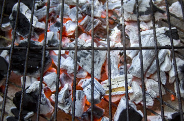 Open Fire Charcoal Barbecue
