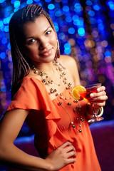 Clubbing beauty