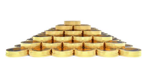 3d coins finance pyramid
