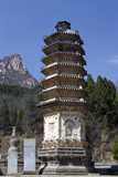 Silver Mountain and Pagoda Forest, near Beijing, China