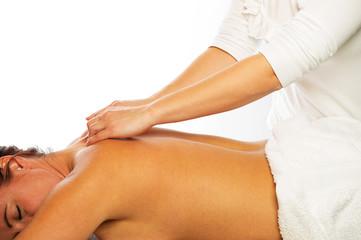 rückenmassage klassisch durch physiotherapeutin