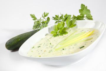 Cremesuppe ala Zucchini © Herby Meseritsch