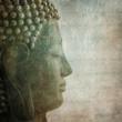 Buddha grunge style Background