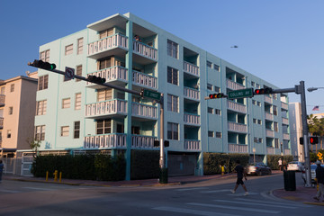 Immeuble à Miami Beach (Collins Avenue)