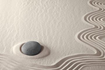 meditation stone zen rock garden