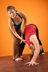 Women In Yoga Training