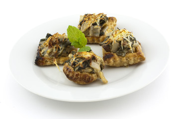 vegetable baked cakes
