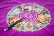Tarot cards with the crystal ball and magic wand (3).