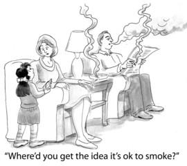 Child is Imitating Her Parents' Poor Behavior