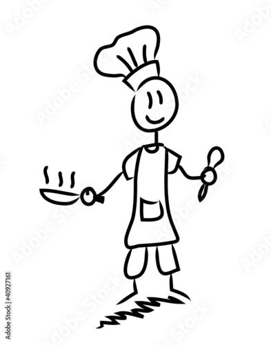 Cuisinier fichier vectoriel libre de droits sur la for Cuisinier 71