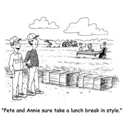 Gourmet Lunch Break on the Farm