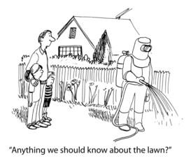 Hazard lawn