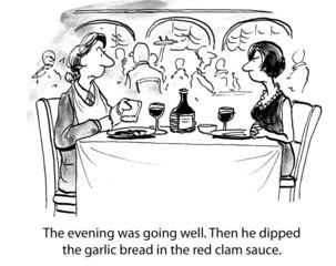 Dipped garlic