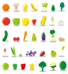 Fruits & Vegetables Set