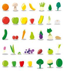 Fruits & Vegetables Set