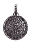 Pendant engraved with the Mayan calendar