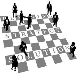 Planning Strategy Solution human chess people