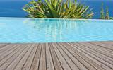 piscine margelle bois