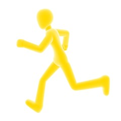 run right yellow