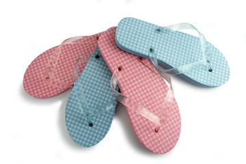 Two pairs of flip-flops