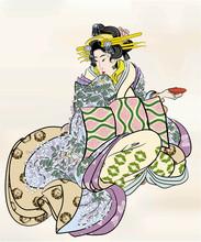 浮世 絵 江 戸 美人 画 10