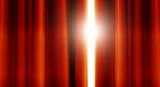 stage curtain light