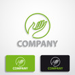 Stylized logo friendly environment # Vector