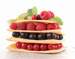 berries mille feuille