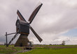 Backside of a Dutch windmill