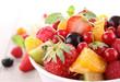 isolated fruit salad