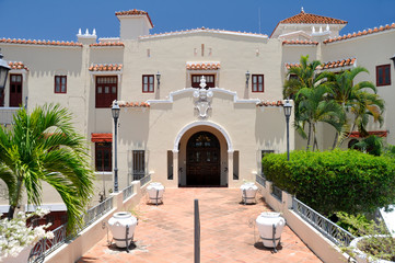 Castillo Serralles Mansion at Ponce Puerto Rico