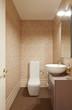 interior beauty center, bathroom, toilet