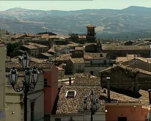 Melfi, veduta dei tetti dell'antica città