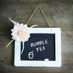 Infotafel Bubble Tea