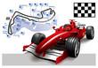 Poster Monaco Formula 1 Grand Prix - 40952709